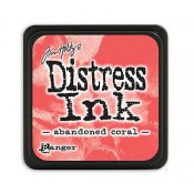 Tim Holtz Mini Distress Ink Pad: Abandoned Coral - TDP46769