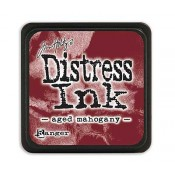 Tim Holtz Mini Distress Ink Pad: Aged Mahogany - TDP39839