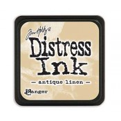 Tim Holtz Mini Distress Ink Pad: Antique Linen - TDP39846