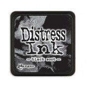 Tim Holtz Mini Distress Ink Pad: Black Soot - TDP39860