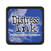 Tim Holtz Mini Distress Ink Pad: Blueprint Sketch - TDP47346