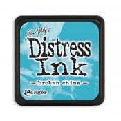 Tim Holtz Mini Distress Ink Pad: Broken China - TDP39877