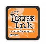 Tim Holtz Mini Distress Ink Pad: Carved Pumpkin - TDP47377