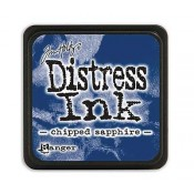 Tim Holtz Mini Distress Ink Pad: Chipped Sapphire - TDP39907