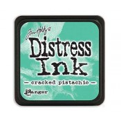 Tim Holtz Mini Distress Ink Pad, Cracked Pistachio - TDP46776