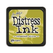 Tim Holtz Mini Distress Ink Pad: Crushed Olive - TDP39914