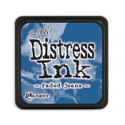 Tim Holtz Mini Distress Ink Pad: Faded Jeans - TDP39952
