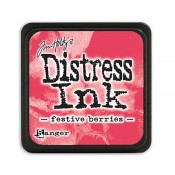Tim Holtz Mini Distress Ink Pad: Festive Berries - TDP39969