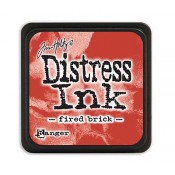 Tim Holtz Mini Distress Ink Pad: Fired Brick - TDP39976