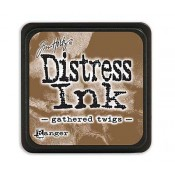 Tim Holtz Mini Distress Ink Pad: Gathered Twigs - TDP40002