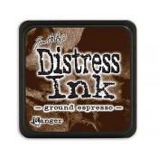 Tim Holtz Mini Distress Ink Pad, Ground Espresso - TDP47353