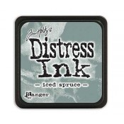 Tim Holtz Mini Distress Ink Pad: Iced Spruce - TDP40019