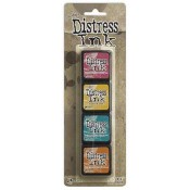 Tim Holtz Mini Distress Ink Pad Kit #1 - TDPK40316