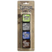 Tim Holtz Mini Distress Ink Pad Kit #14 - TDPK46745