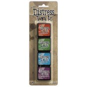 Tim Holtz Mini Distress Ink Pad Kit #2 - TDPK40323