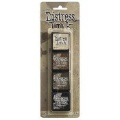 Tim Holtz Mini Distress Ink Pad Kit #3 - TDPK40330