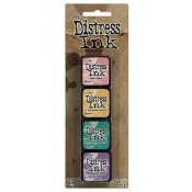 Tim Holtz Mini Distress Ink Pad Kit #4 - TDPK40347