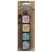 Tim Holtz Mini Distress Ink Pad Kit #4 - TDPK40347