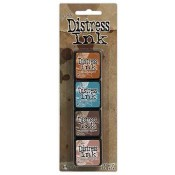 Tim Holtz Mini Distress Ink Pad Kit #6 - TDPK40361