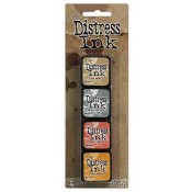 Tim Holtz Mini Distress Ink Pad Kit #7 - TDPK40378