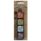 Tim Holtz Mini Distress Ink Pad Kit #8 - TDPK40385