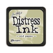 Tim Holtz Mini Distress Ink Pad: Old Paper - TDP40057