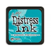 Tim Holtz Mini Distress Ink Pad: Peacock Feathers - TDP40064