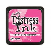 Tim Holtz Mini Distress Ink Pad: Picked Raspberry - TDP40088