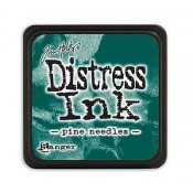 Tim Holtz Mini Distress Ink Pad: Pine Needles - TDP40095