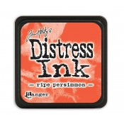 Tim Holtz Mini Distress Ink Pad: Ripe Persimmon - TDP40118