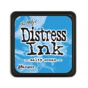 Tim Holtz Mini Distress Ink Pad: Salty Ocean - TDP40132