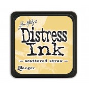 Tim Holtz Mini Distress Ink Pad: Scattered Straw - TDP40149
