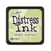 Tim Holtz Mini Distress Ink Pad: Shabby Shutters - TDP40163