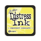 Tim Holtz Mini Distress Ink Pad: Squeezed Lemonade - TDP40200