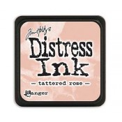 Tim Holtz Mini Distress Ink Pad: Tattered Rose - TDP40224