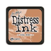 Tim Holtz Mini Distress Ink Pad: Tea Dye - TDP40231