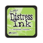 Tim Holtz Mini Distress Ink Pad: Twisted Citron - TDP47322