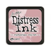 Tim Holtz Mini Distress Ink Pad: Victorian Velvet - TDP40255