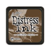 Tim Holtz Mini Distress Ink Pad: Walnut Stain - TDP40279