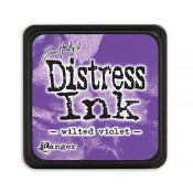 Tim Holtz Mini Distress Ink Pad: Wilted Violet - TDP47360