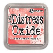 Tim Holtz Distress Oxide Ink Pad: Abandoned Coral - TDO55778