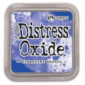 Tim Holtz Distress Oxide Ink Pad: Blueprint Sketch - TDO55822