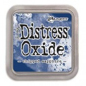 Tim Holtz Distress Oxide Ink Pad: Chipped Sapphire TDO55884