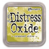 Tim Holtz Distress Oxide Ink Pad: Crushed Olive - TDO55907