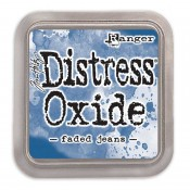 Tim Holtz Distress Oxide Ink Pad: Faded Jeans - TDO55945