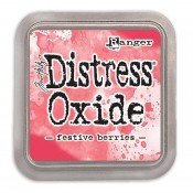 Tim Holtz Distress Oxide Ink Pad: Festive Berries - TDO55952
