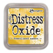 Tim Holtz Distress Oxide Ink Pad: Fossilized Amber - TDO55983