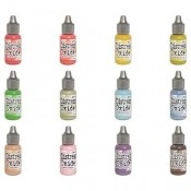 Tim Holtz Distress Oxide Reinkers: Set 4