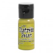 Tim Holtz Flip Top Distress Paint: Crushed Olive - TDF52999