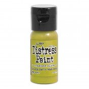 Tim Holtz Flip Top Distress Paint: Crushed Olive - TDF52999D